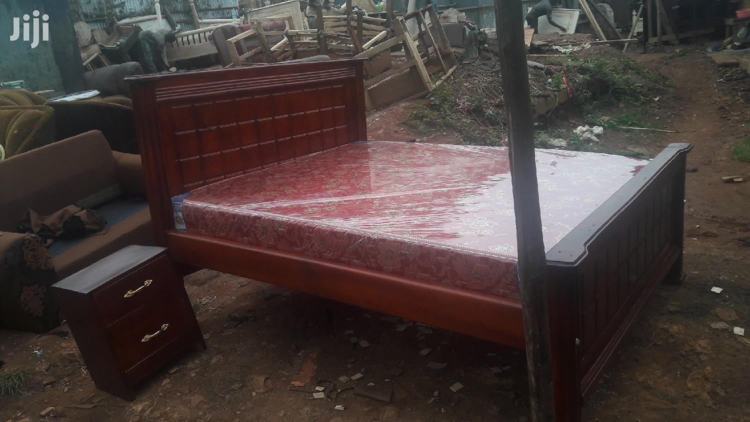 Simple Bed 5x6 | Furniture for sale in Kampala, Central Region, Uganda