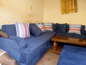 Eddy Sofa Blue   Furniture for sale in Central Region, Kampala