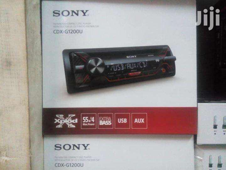 Sony Xplod Cdx G 1200 Car Radio