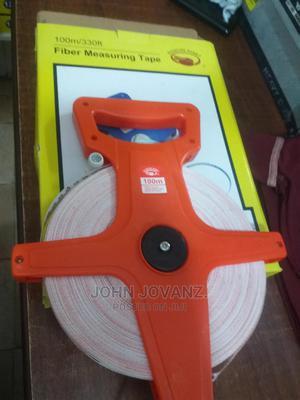 Fiber Tape Measure 100m/33ft | Measuring & Layout Tools for sale in Central Region, Kampala