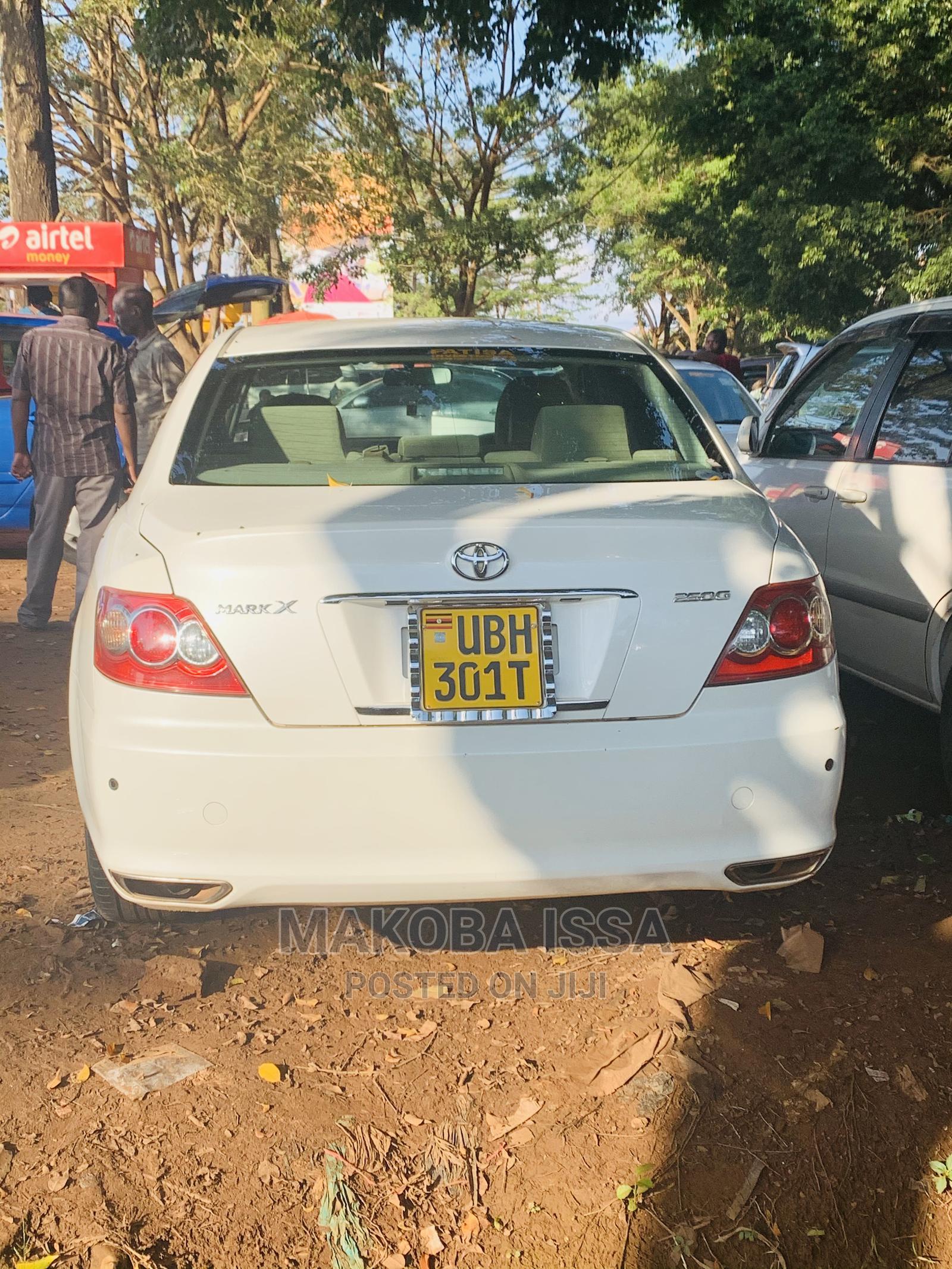 Toyota Mark X 2007 White   Cars for sale in Kampala, Central Region, Uganda