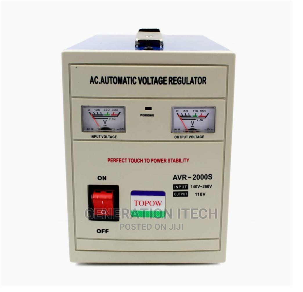 Airstar Stabilizer 2000 Watts Automatic Voltage Regulator