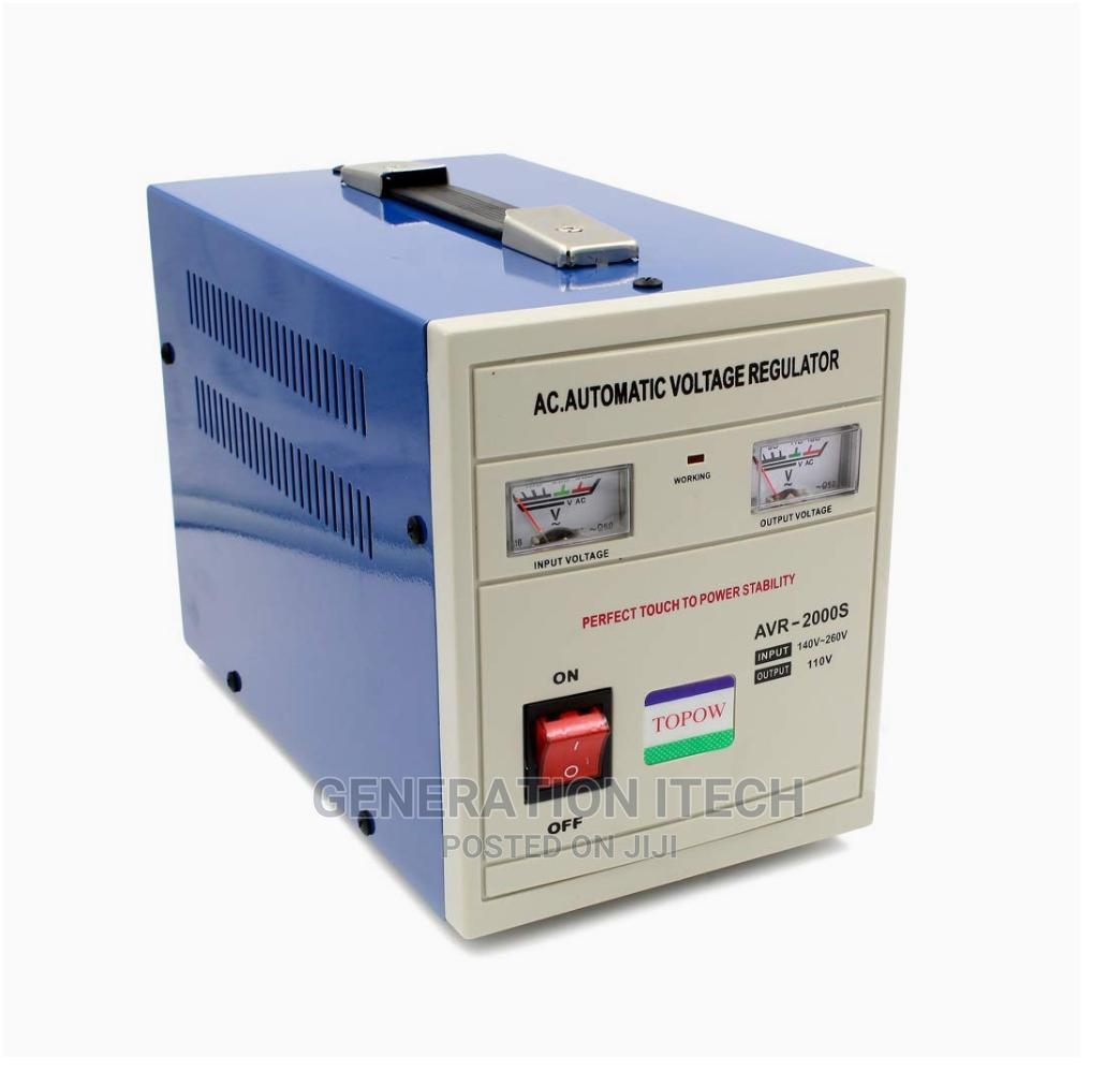 Airstar Stabilizer 2000 Watts Automatic Voltage Regulator | Electrical Equipment for sale in Kampala, Central Region, Uganda