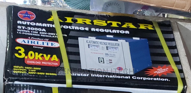 Airstar Stabilizer 3000 Watts Automatic Voltage Regulator | Electrical Equipment for sale in Kampala, Central Region, Uganda