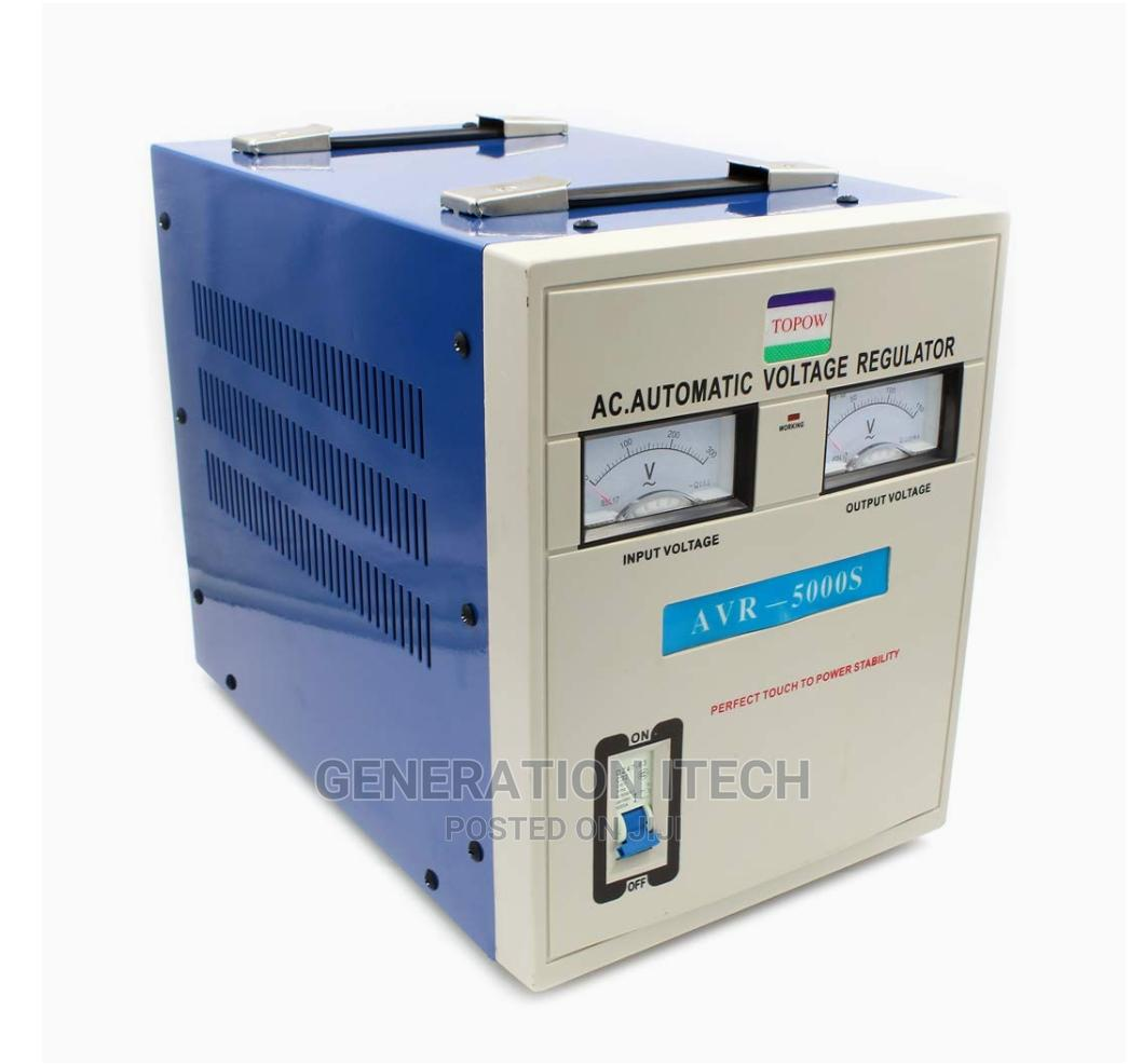 Airstar Stabilizer 5000 Watts - Automatic Voltage Regulator