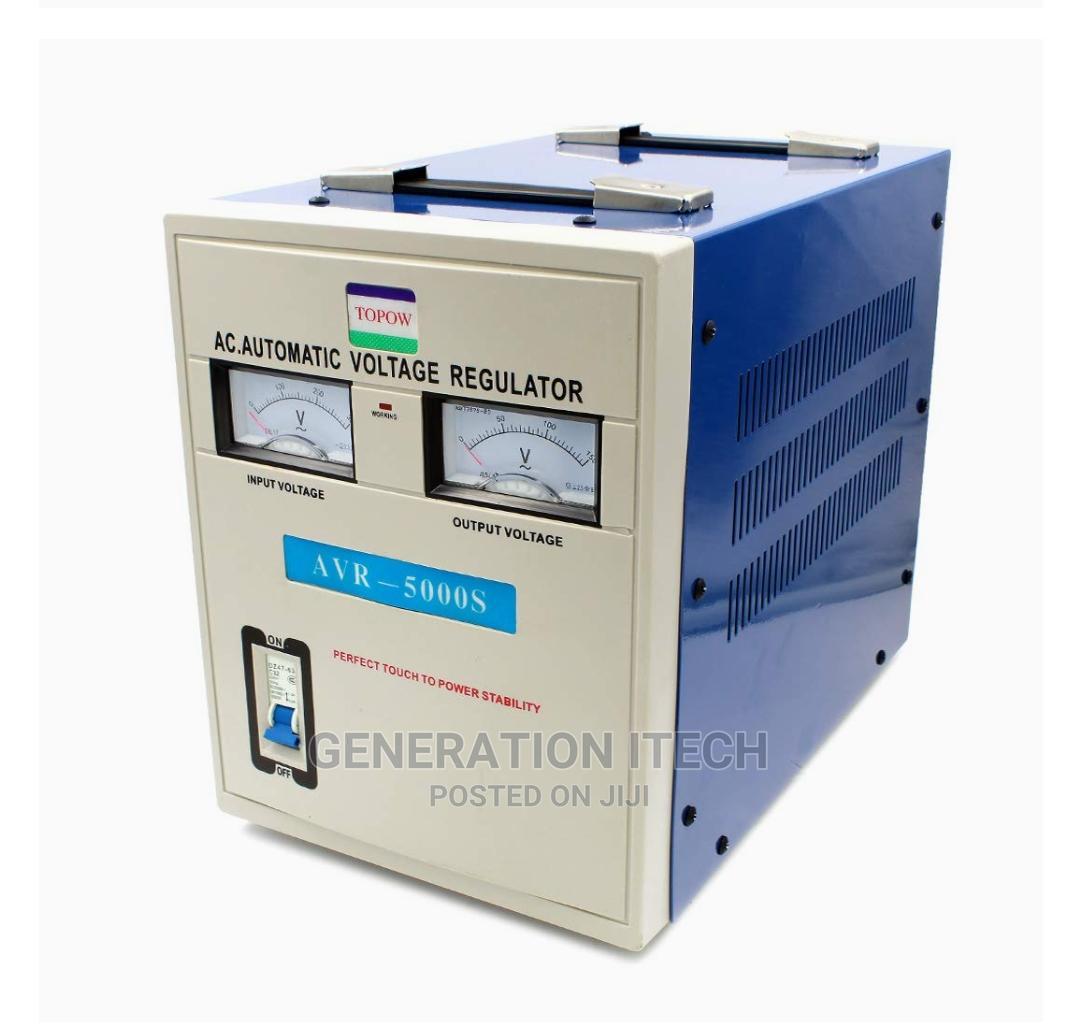 Airstar Stabilizer 5000 Watts - Automatic Voltage Regulator | Electrical Equipment for sale in Kampala, Central Region, Uganda