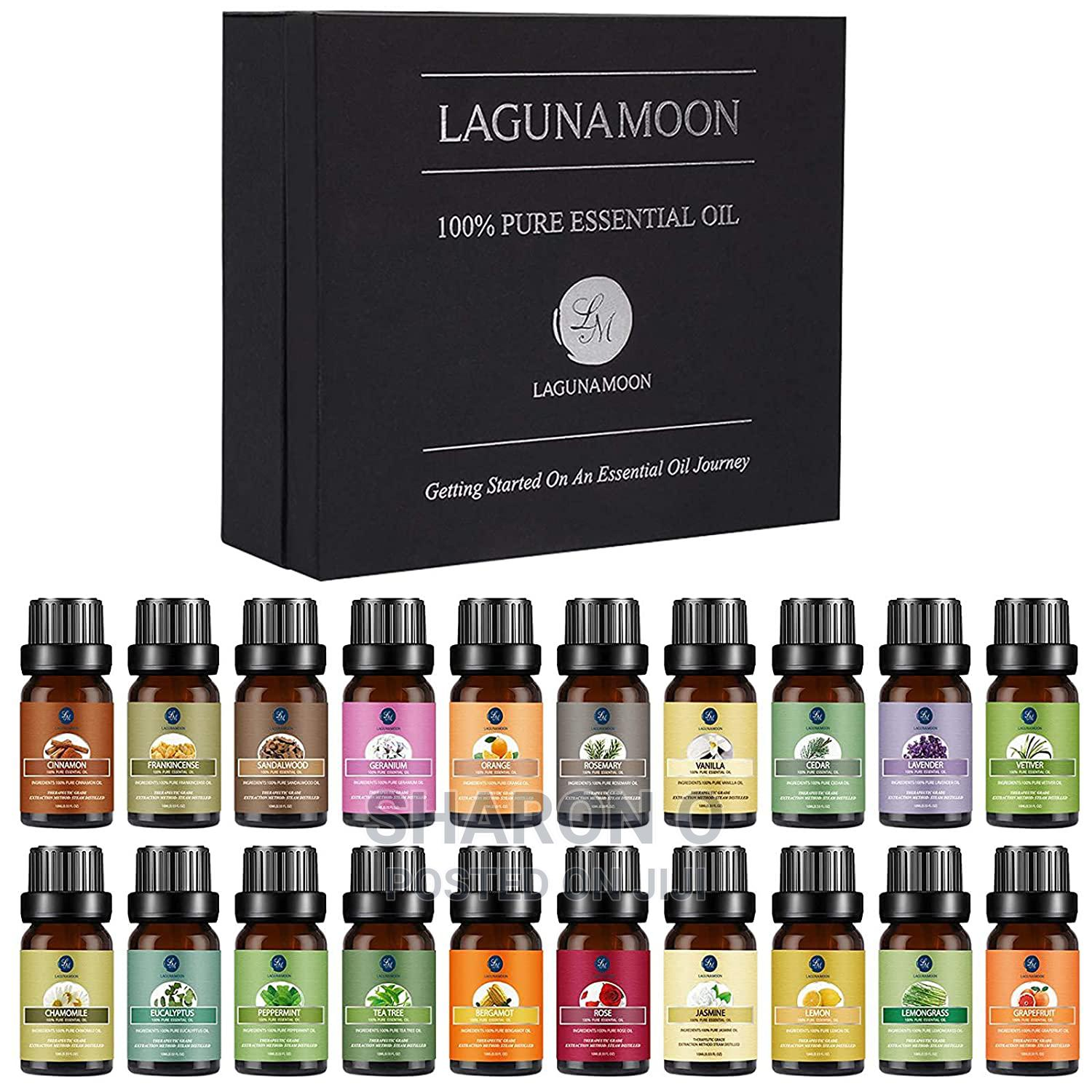 100% Pure Organic and Natural Essential Oils