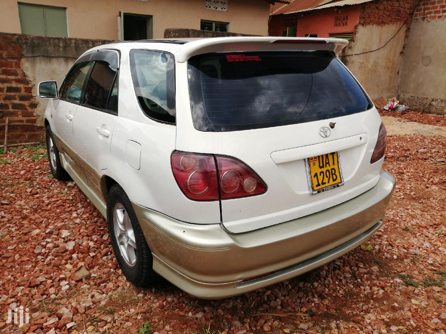 New Toyota Harrier 2002 White