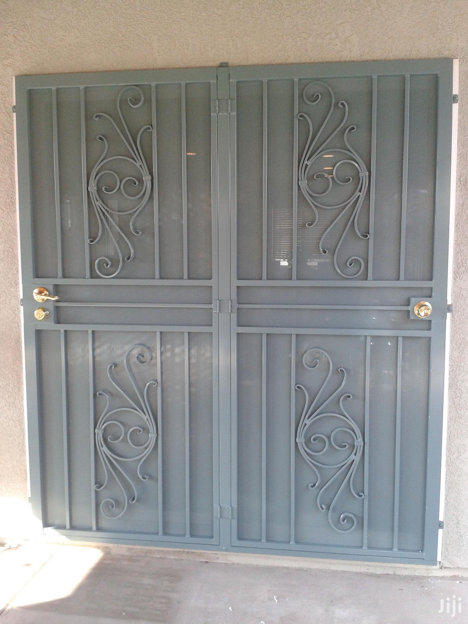 Wrought Iron Sliding Doors
