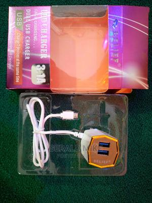 Belief Fast Charger ,With 2 Free USB Ports   Accessories for Mobile Phones & Tablets for sale in Central Region, Kampala