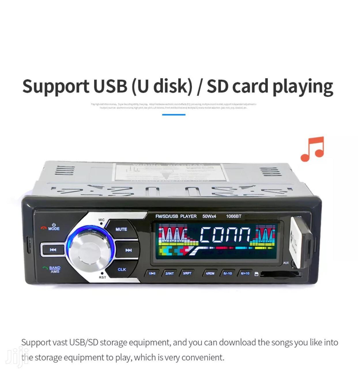 Original Bluetooth Car Radio System