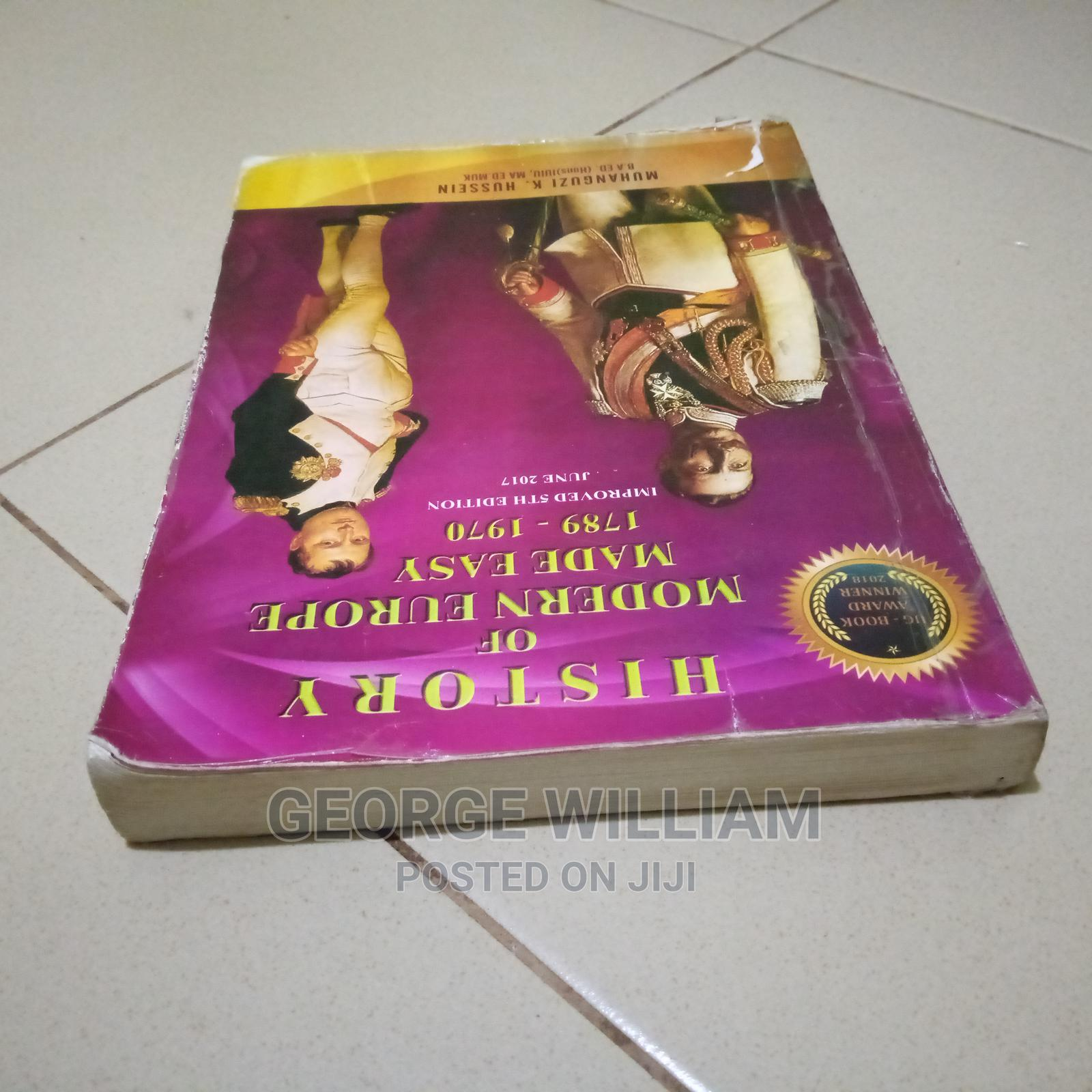 History of Modern Europe Made Easy | Books & Games for sale in Kampala, Central Region, Uganda