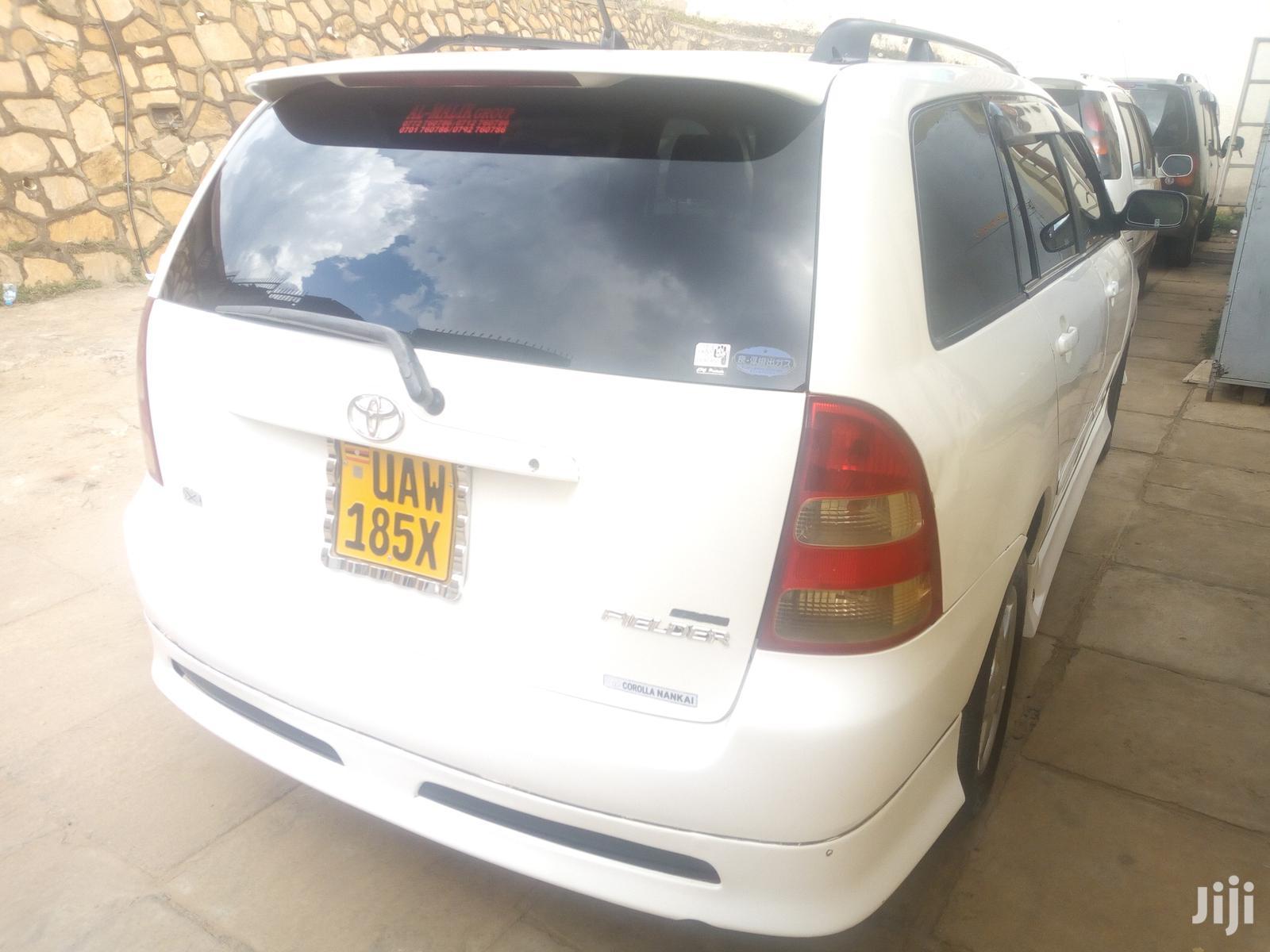 Toyota Fielder 2004 White   Cars for sale in Kampala, Central Region, Uganda