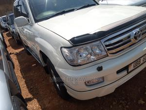 Toyota Land Cruiser Prado 2005 White   Cars for sale in Central Region, Kampala