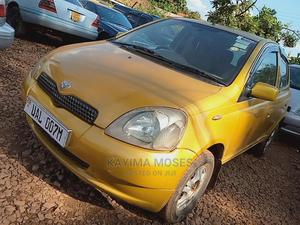 Toyota Vitz 2001 Yellow   Cars for sale in Central Region, Kampala