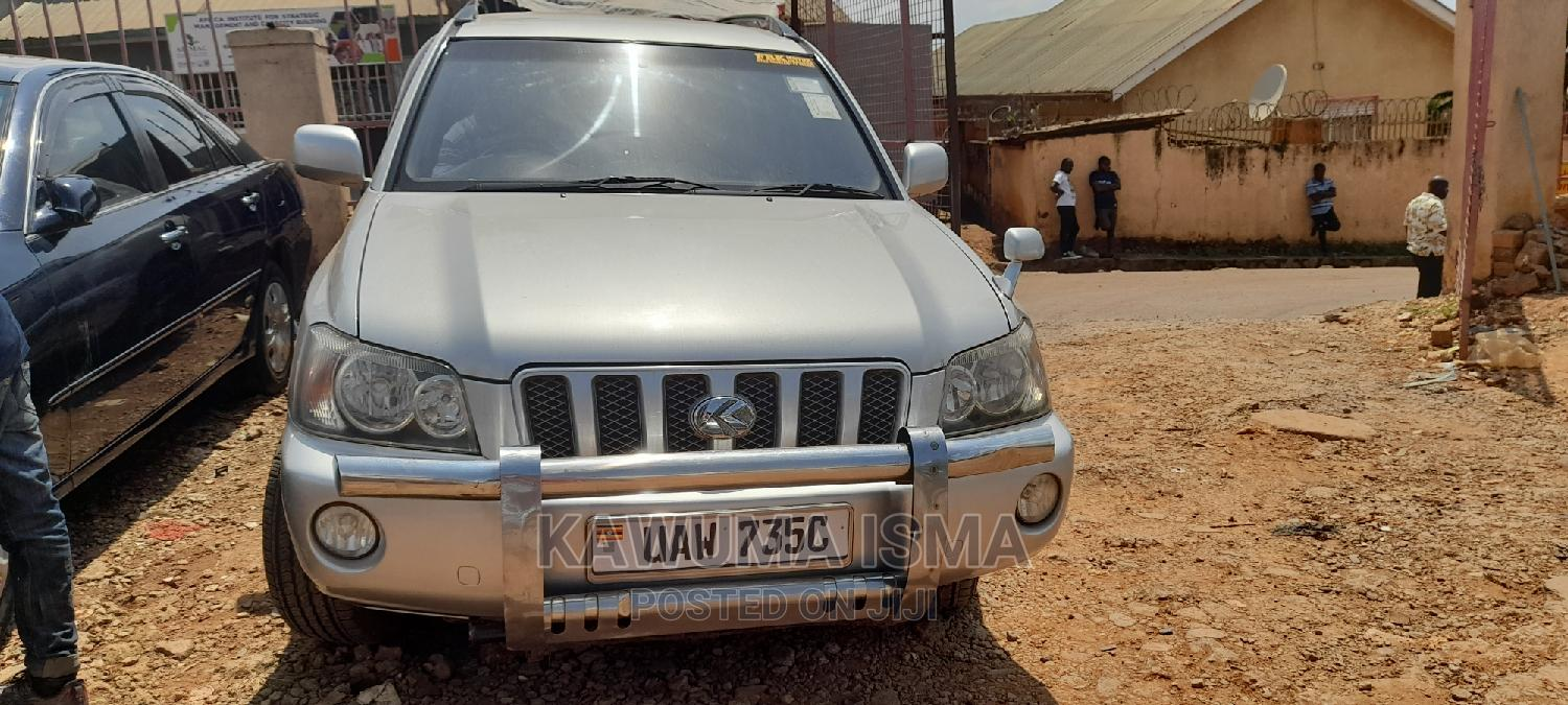 Toyota Kluger 2002 Silver