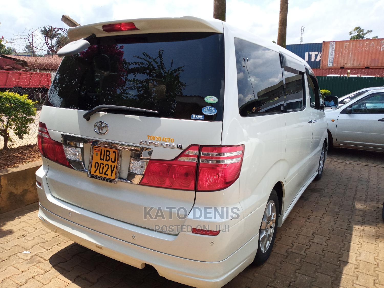 Toyota Alphard 2007 White   Cars for sale in Kampala, Central Region, Uganda