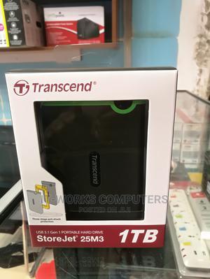 "Transcend Slim 1TB 2.5"" External Hard Drive | Computer Hardware for sale in Central Region, Kampala"