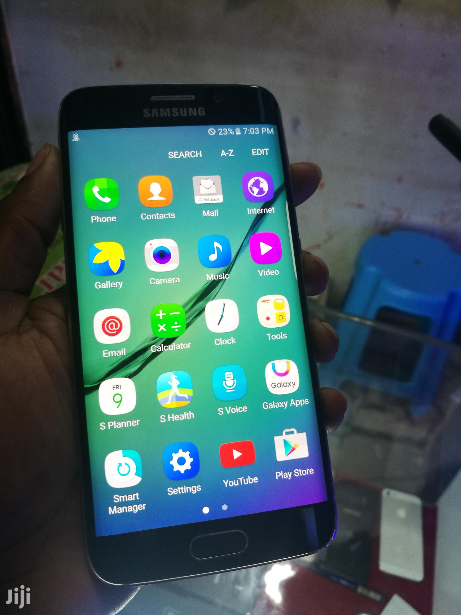 Samsung Galaxy S6 edge 64 GB Blue | Mobile Phones for sale in Kampala, Central Region, Uganda
