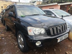 Toyota Kluger 2004 Black   Cars for sale in Central Region, Kampala