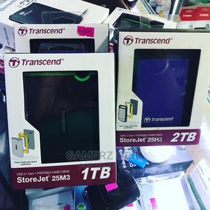 Original Transcend 1TB / 2TB External Hard Disk   Computer Hardware for sale in Central Region, Kampala