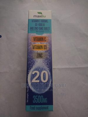 Maxilv (Vitaminc Zinc and Vitamin D3) | Vitamins & Supplements for sale in Central Region, Kampala