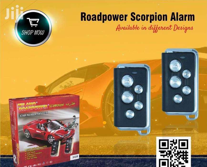 Roadpower Scorpion Alarm