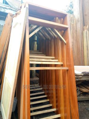 Mahogany Door Frames 8ft   Doors for sale in Central Region, Kampala