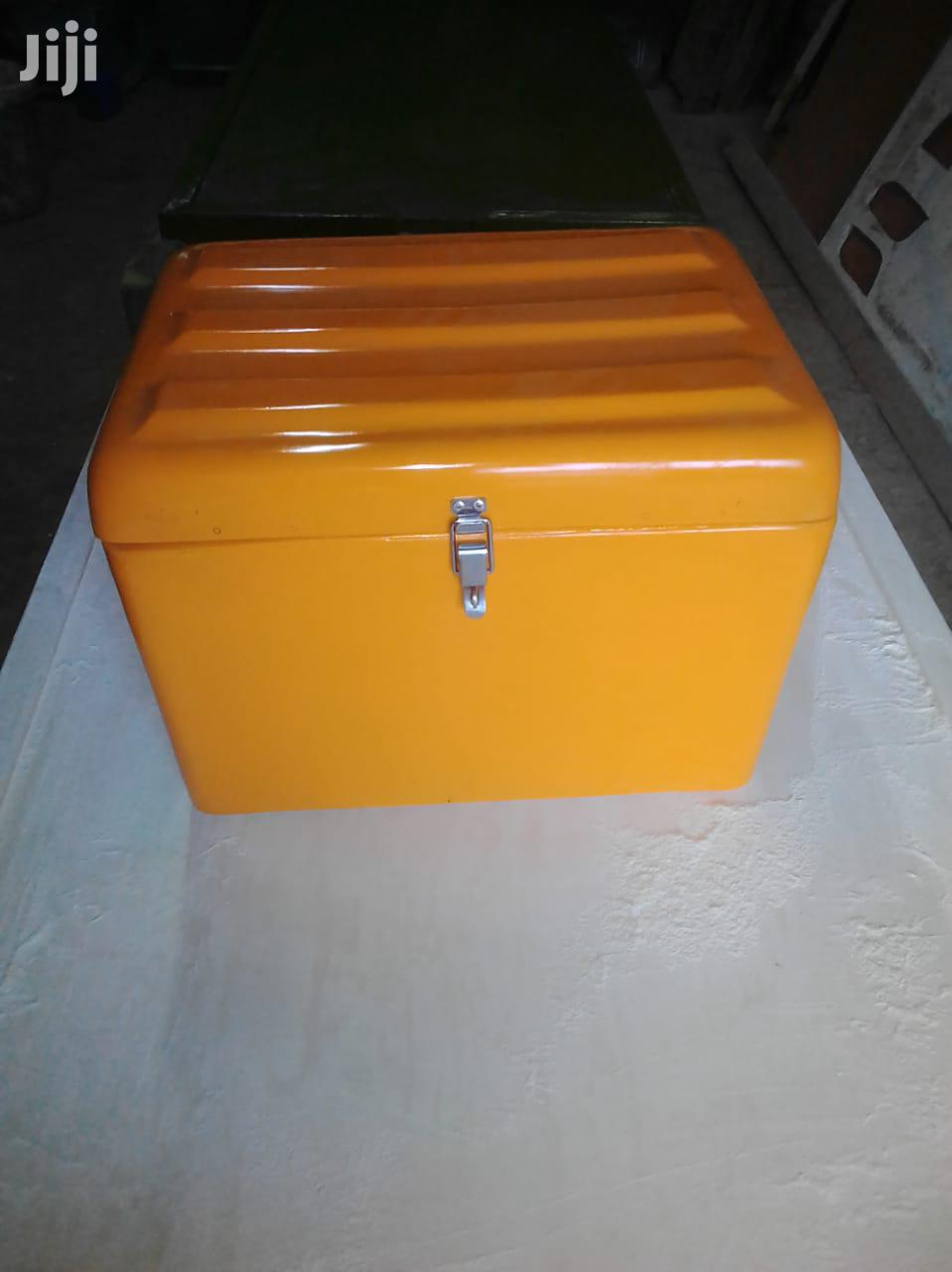 We Make Fibreglass Carrier Boxes For Motorbikes