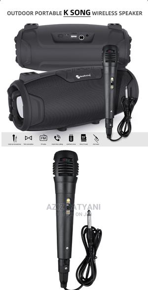 Outdoor Karoke Wireless Speaker With Microphone NR 6012m | Audio & Music Equipment for sale in Central Region, Kampala