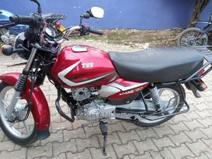 TVS Apache 180 RTR 2020 Red   Motorcycles & Scooters for sale in Western Region, Kabalore