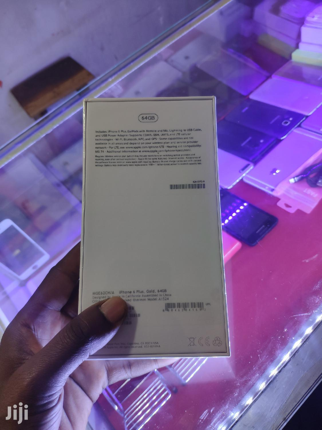 New Apple iPhone 6 Plus 64 GB Gold   Mobile Phones for sale in Kampala, Central Region, Uganda