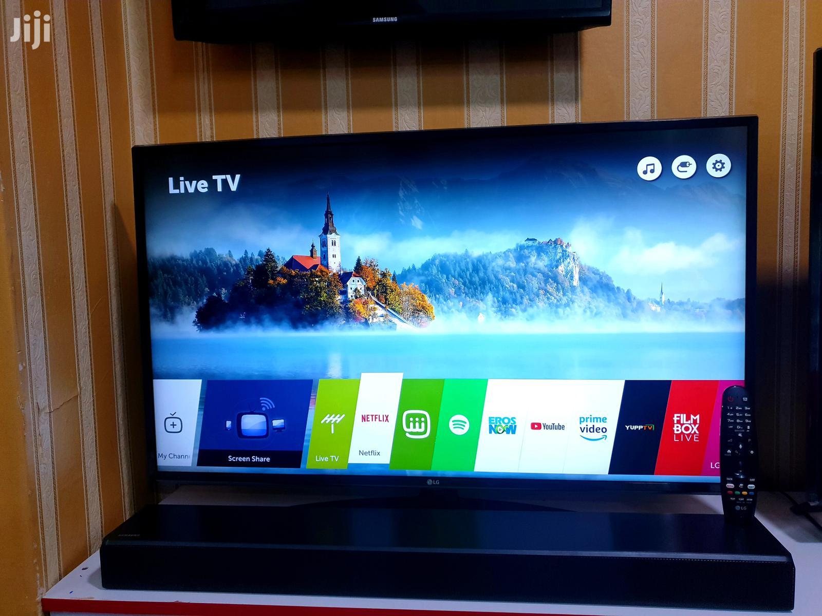 New LG 43 Inches Smart Ultra Hd 4k Webos Tv | TV & DVD Equipment for sale in Kampala, Central Region, Uganda