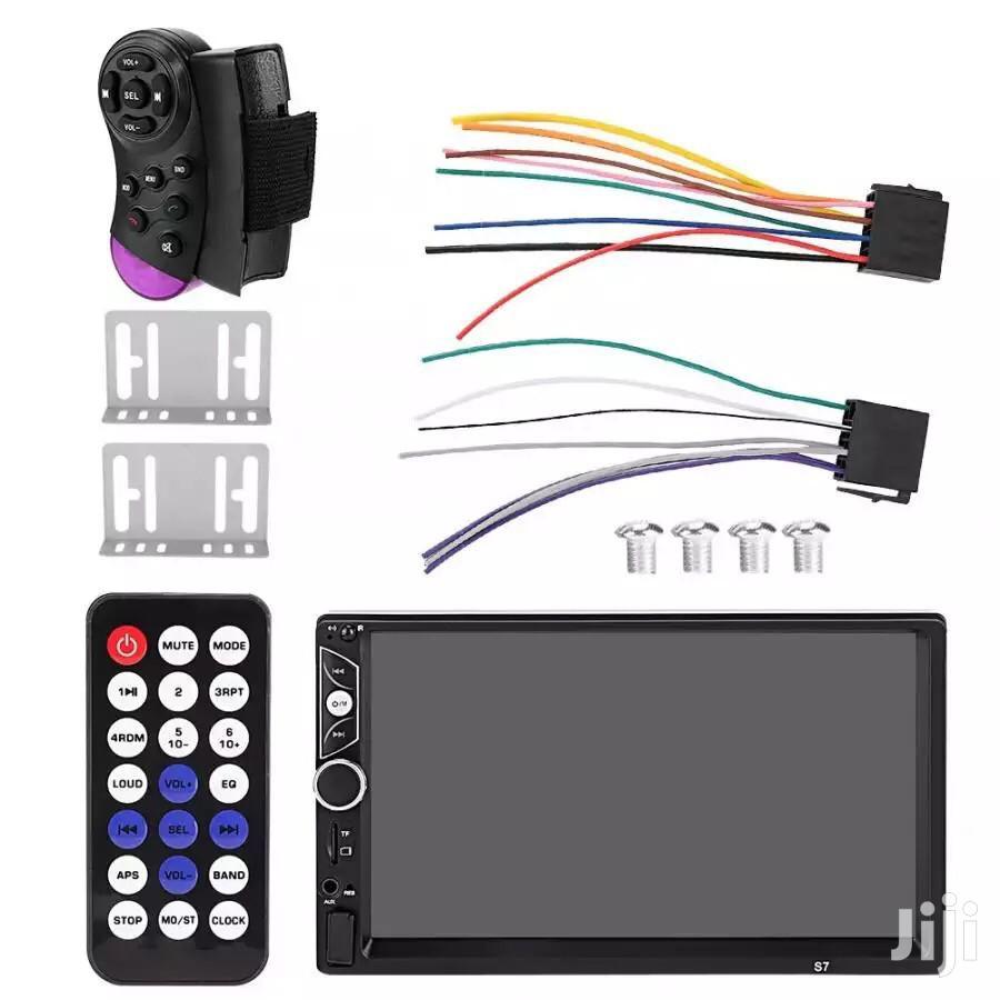7 Inches Car Bluetooth Usb Player Radio