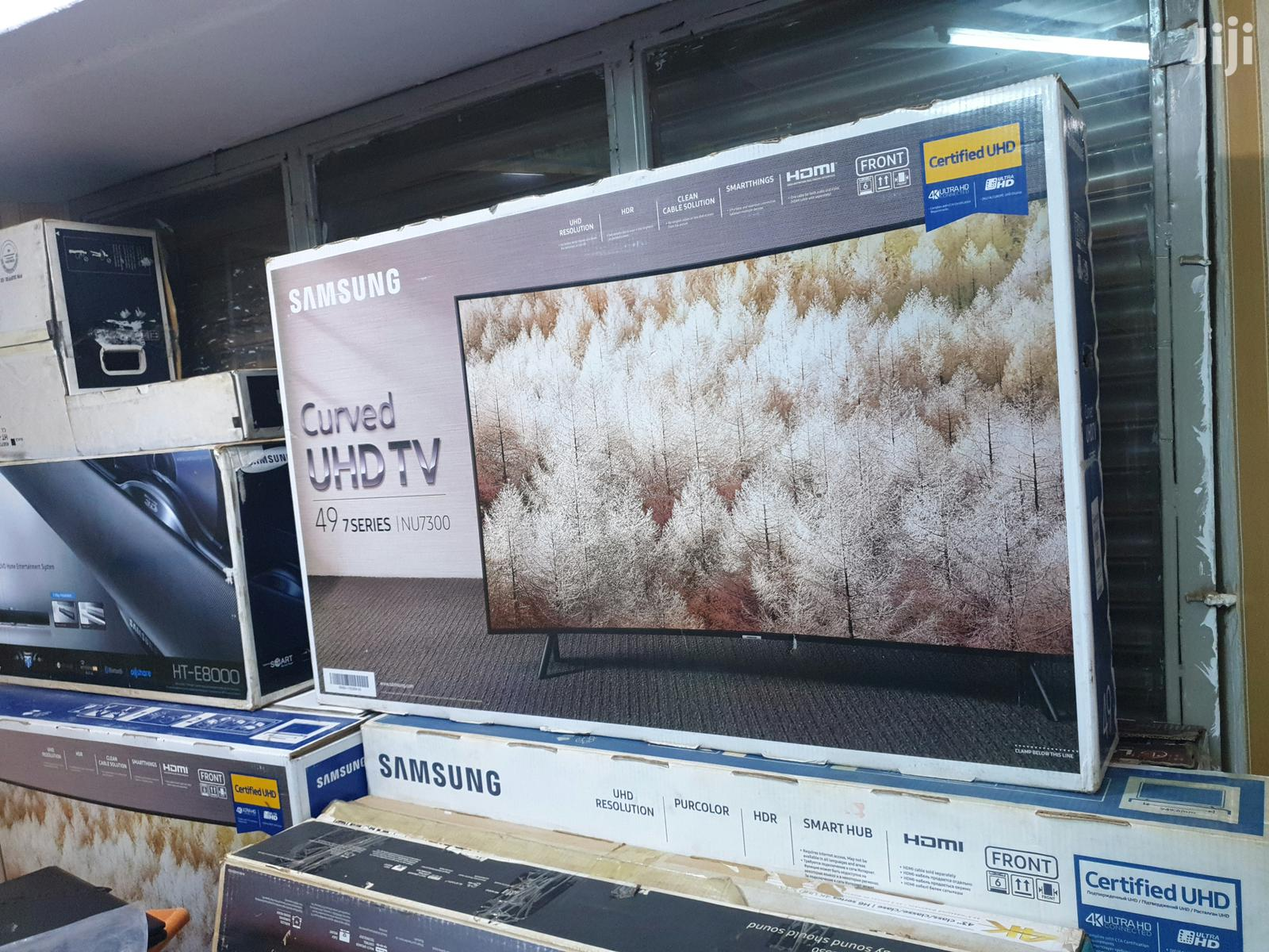 Brand New Samsung 49 Inches Curve Ultra Hd 4k Tv