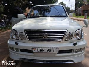 Toyota Land Cruiser 2003 White   Cars for sale in Central Region, Kampala