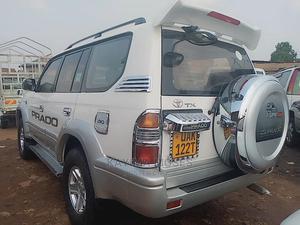Toyota Land Cruiser Prado 1998 Silver | Cars for sale in Central Region, Kampala