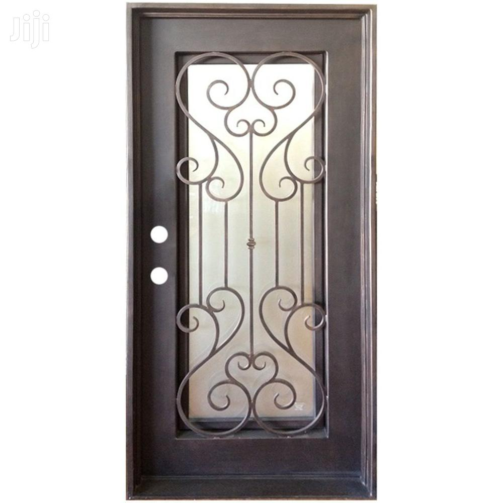 S140819 Wrought Iron High Quality Doors D