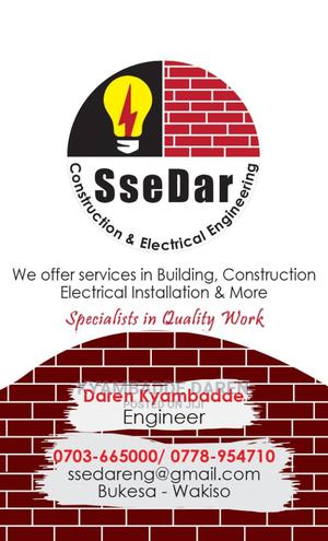 Ssedar Construction and Electrical Installation Services   Building & Trades Services for sale in Central Region, Wakiso