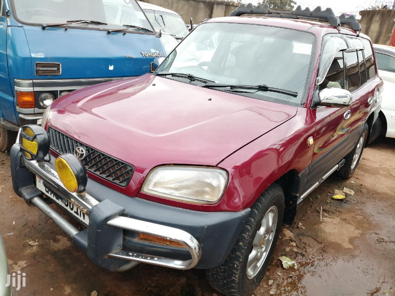 New Toyota RAV4 1998 Cabriolet Red