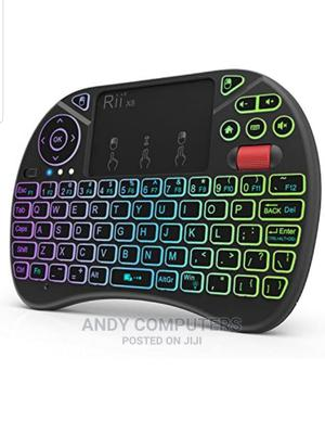 Mini Wireless Keyboard And Touch Pad Combo | Accessories & Supplies for Electronics for sale in Central Region, Kampala