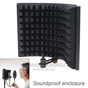 Plastic Microphone Isolation Shield 3 Panel | Audio & Music Equipment for sale in Central Region, Kampala