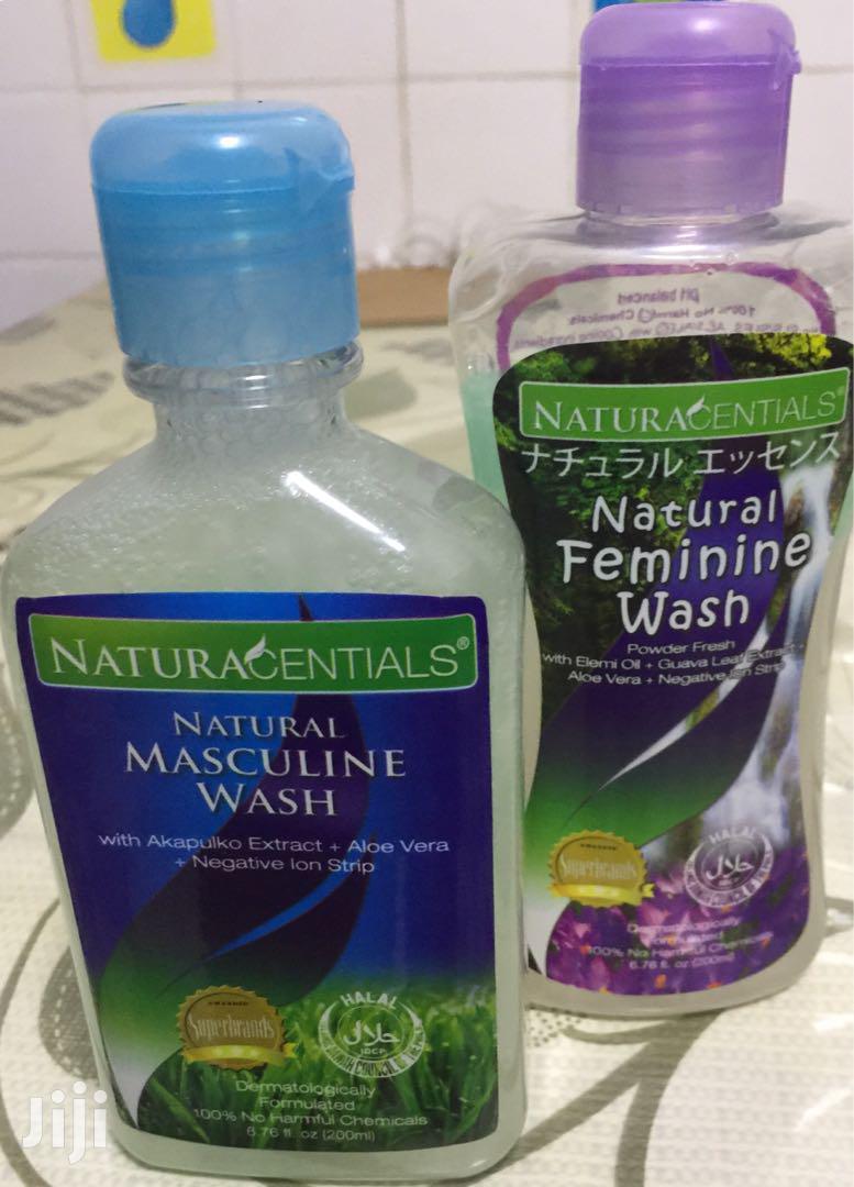 Feminie And Masculine Wash