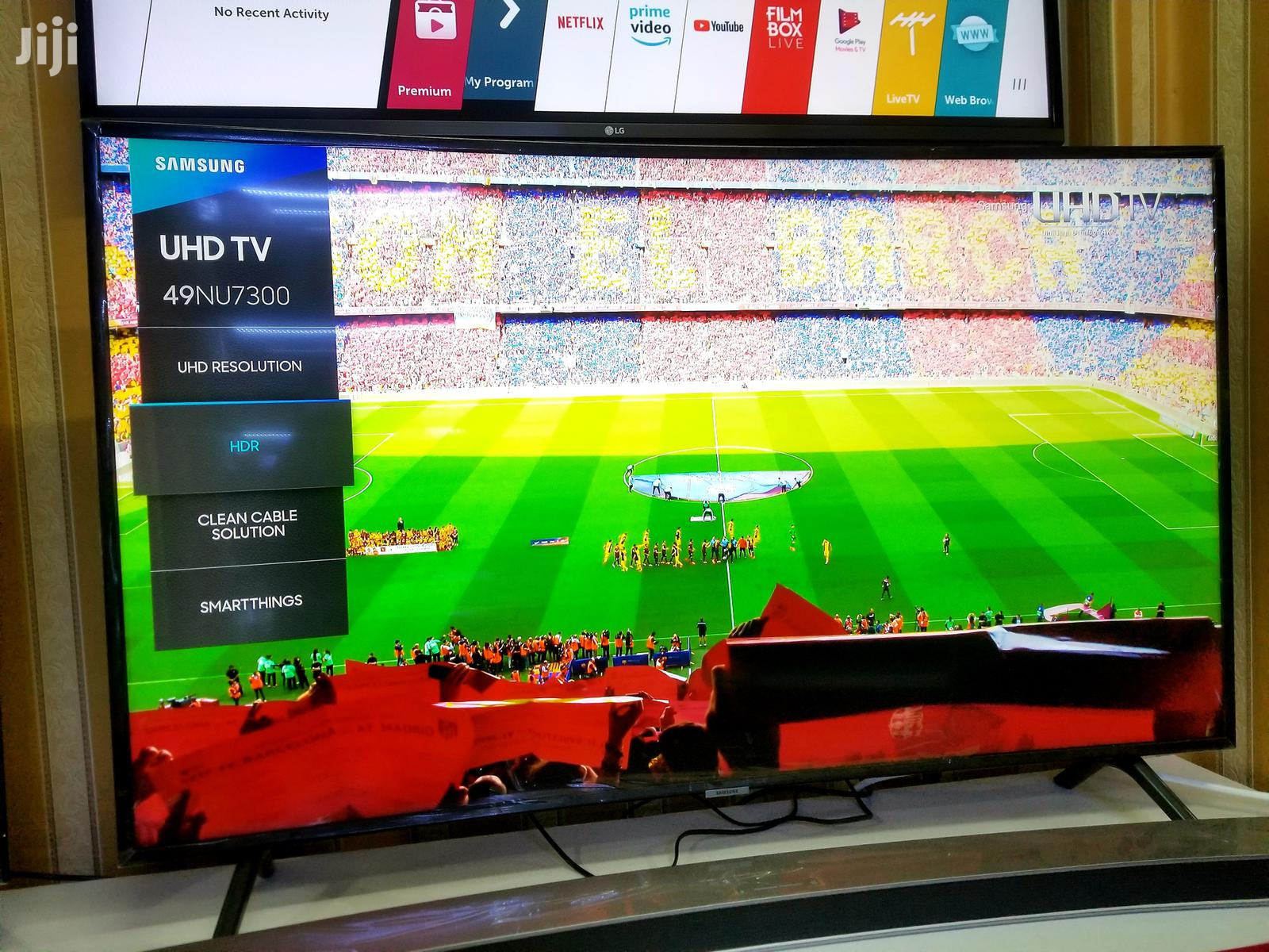 49inches Curved Samsung Smart UHD 4k TV
