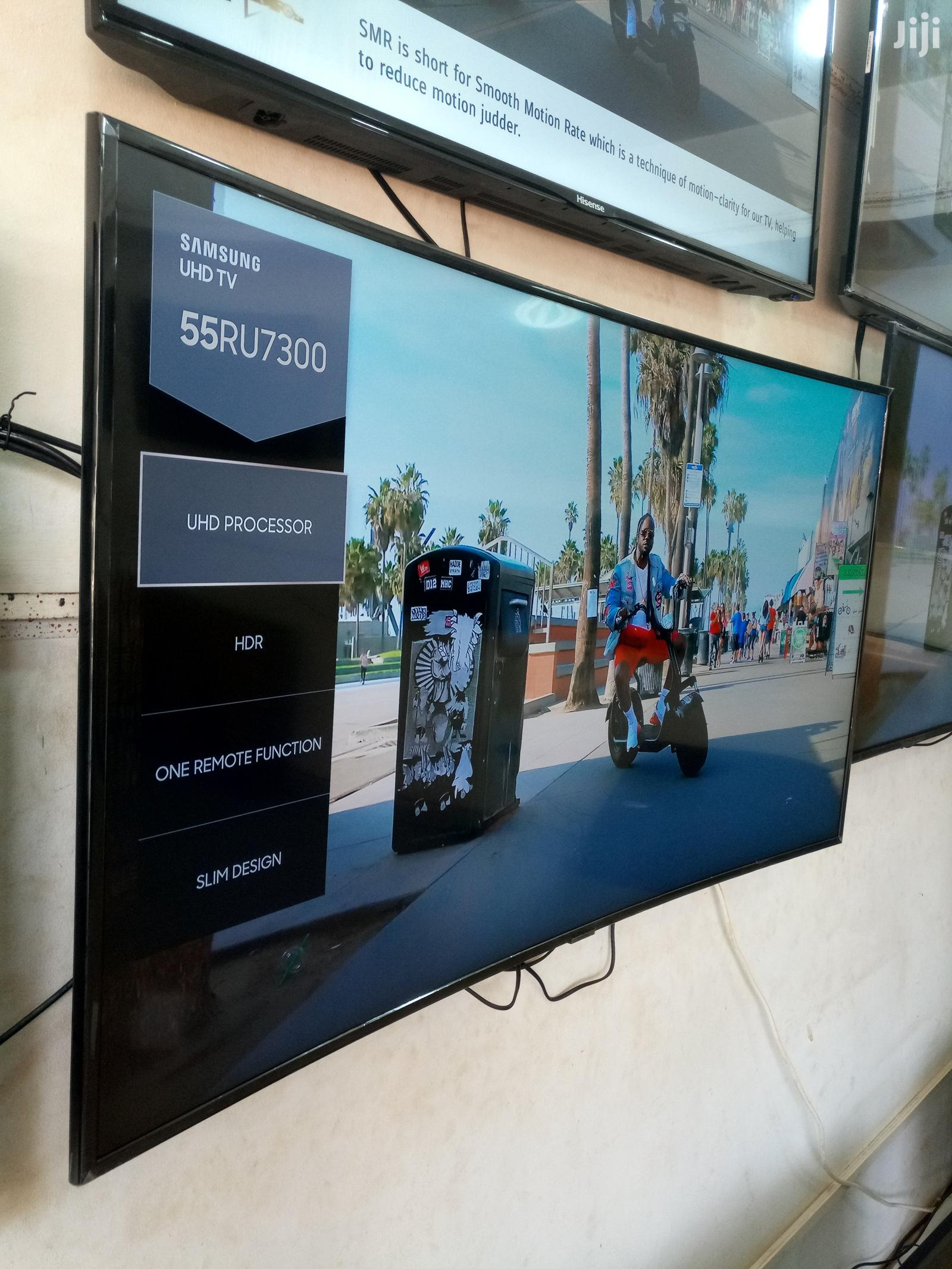 Samsung Smart UHD Curved TV 55 Inches | TV & DVD Equipment for sale in Kampala, Central Region, Uganda
