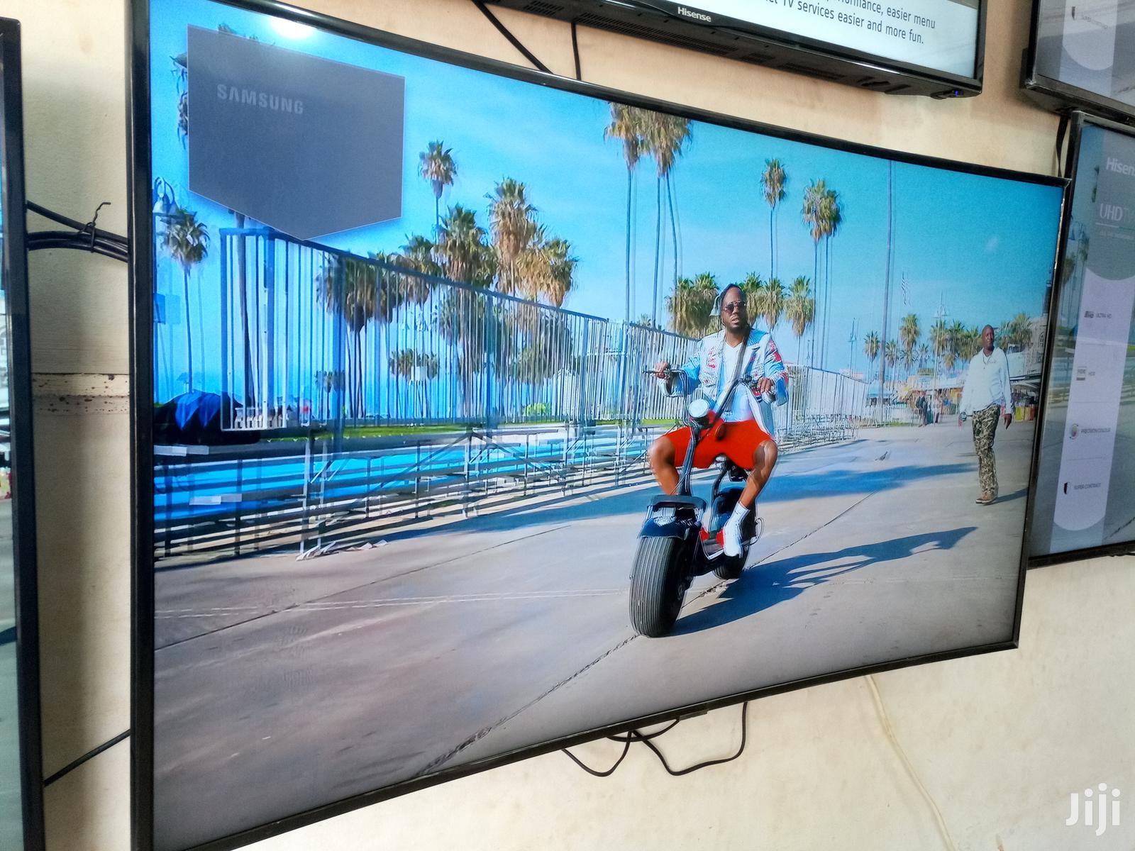 Samsung Smart UHD Curved TV 55 Inches