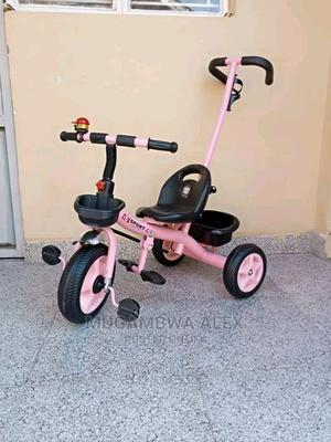 Tricycle Bikes With a Push Handle | Toys for sale in Central Region, Kampala