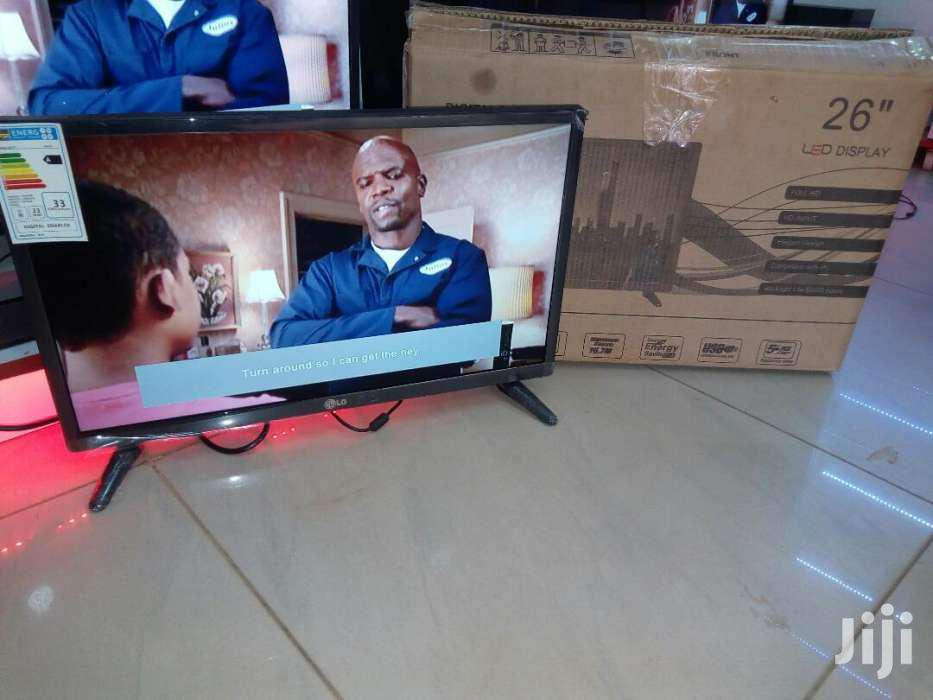 LG Flat Screen TV 26 Inches | TV & DVD Equipment for sale in Kampala, Central Region, Uganda