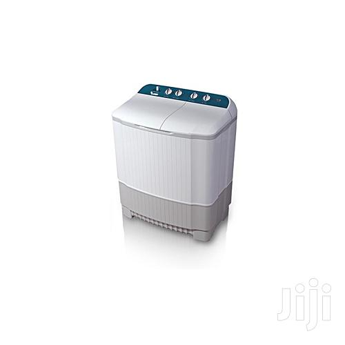 LG Washing Machine Twin Tub, 1L, 7kg, P8052R3F - Grey