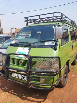Toyota Hilux Surf 1999 Green   Cars for sale in Central Region, Mukono